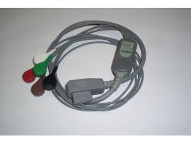 5-lead patient cable for CardioTrak