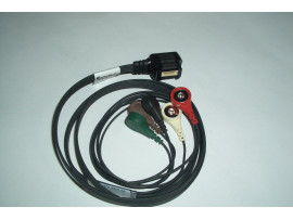 DL900  Holter-ECG cable 5lead  NORAV, BRAEMAR